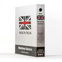 Fibrax brzdový bowden 2P 5mm černý - balení krabice 30m
