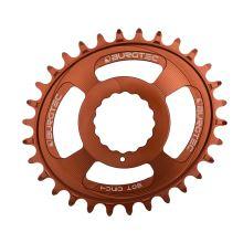 Burgtec převodník Oval Cinch Thick Thin - 30T - Kash Bronze