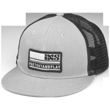 iXS kšiltovka Playground hat grey-black one size