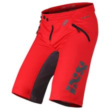 iXS kraťasy Trigger shorts red-graphite