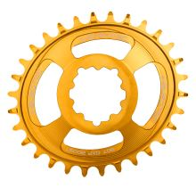 Burgtec převodník Oval GXP Boost 3mm Offset Thick Thin - 32T - Burgtec Bullion Gold