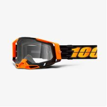 100% brýle motokrosové RACECRAFT 2 Goggle Costume 2 - Clear Lens