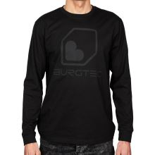 Burgtec triko Black on Black Long Sleeve Tech  - Medium