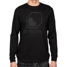 Burgtec triko Black on Black Long Sleeve Tech  - Small