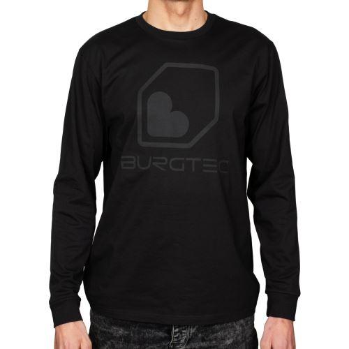 Burgtec triko Black on Black Long Sleeve Tech