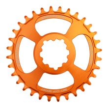 Burgtec převodník GXP Boost 3mm Offset Thick Thin - 34T - Iron Bro Orange