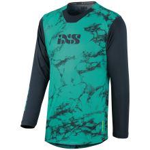 iXS dětský dres Trigger X Air Kids jersey lagoon-marine