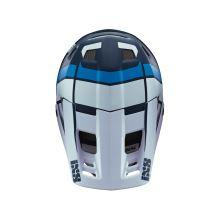 IXS náhradní kšilt + šroubky XULT modrý-bílý