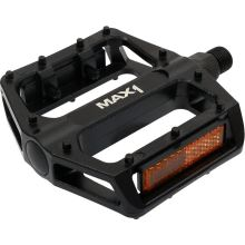 Max1 pedály BMX černé s piny
