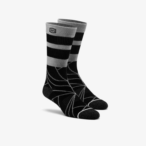 "100% ponožky ""FRACTURE"" Athletic Black"